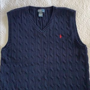 Polo by Ralph Lauren large 14-16 boys sweater vest